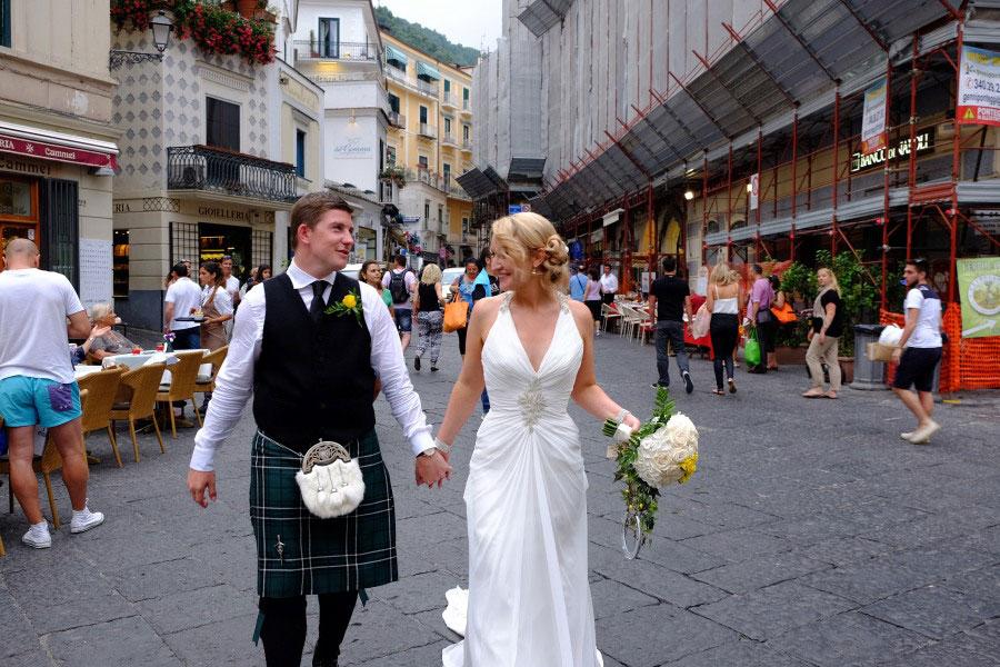 Symbolic Weddings in Capri