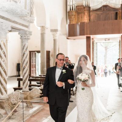 ravello catholic wedding