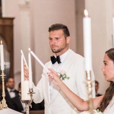 ravello catholic wedding candles
