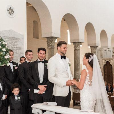exclusive ravello catholic wedding