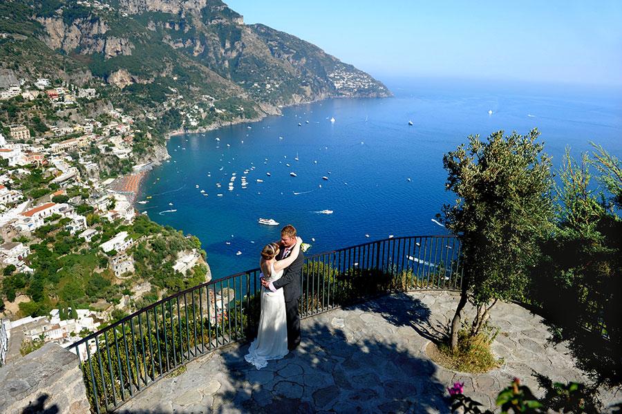 Destination wedding in Positano Amalfi coast