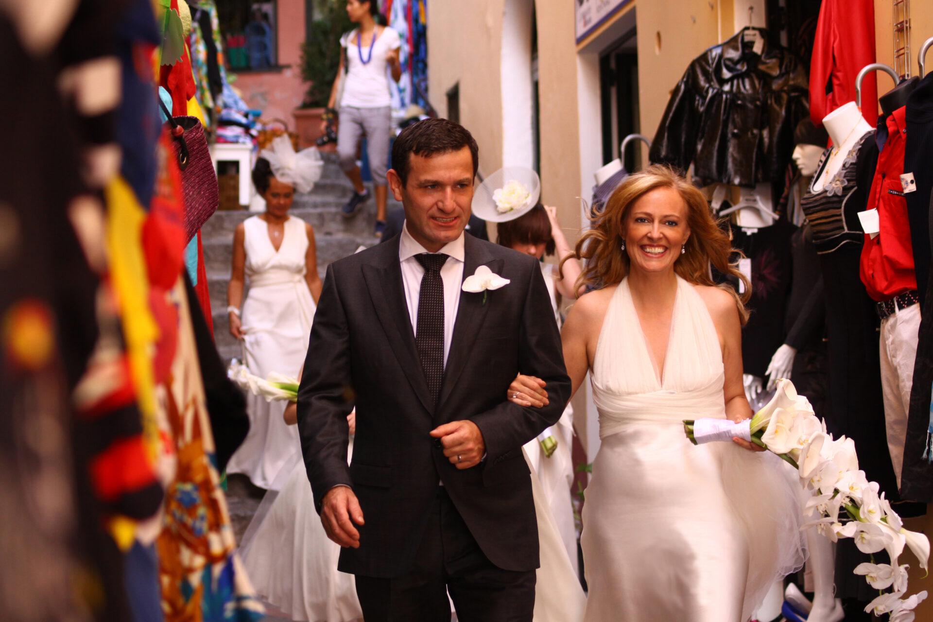Protestant Weddings Designer in Positano