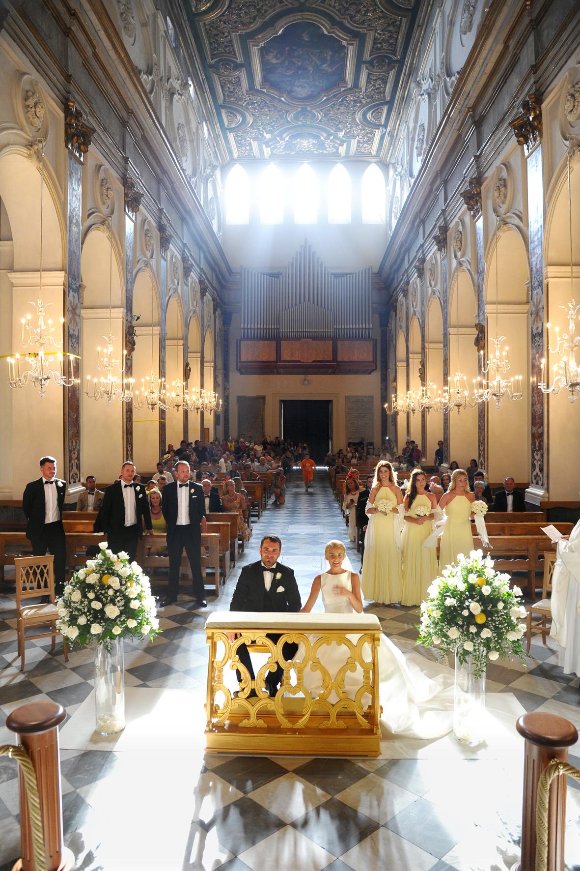 Catholic Weddings in Amalfi