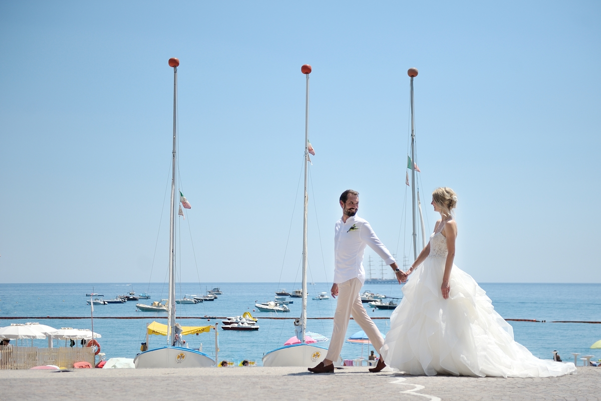 Civil weddings in Amalfi