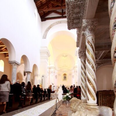 wedding in ravello cathedral