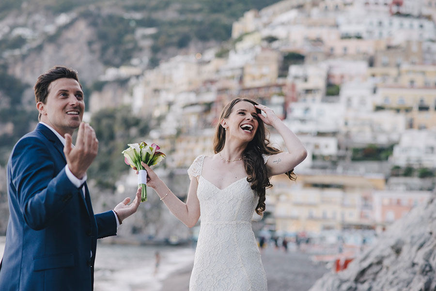 elopement on the amalfi coast