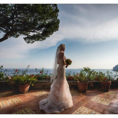 Positano bride Italy