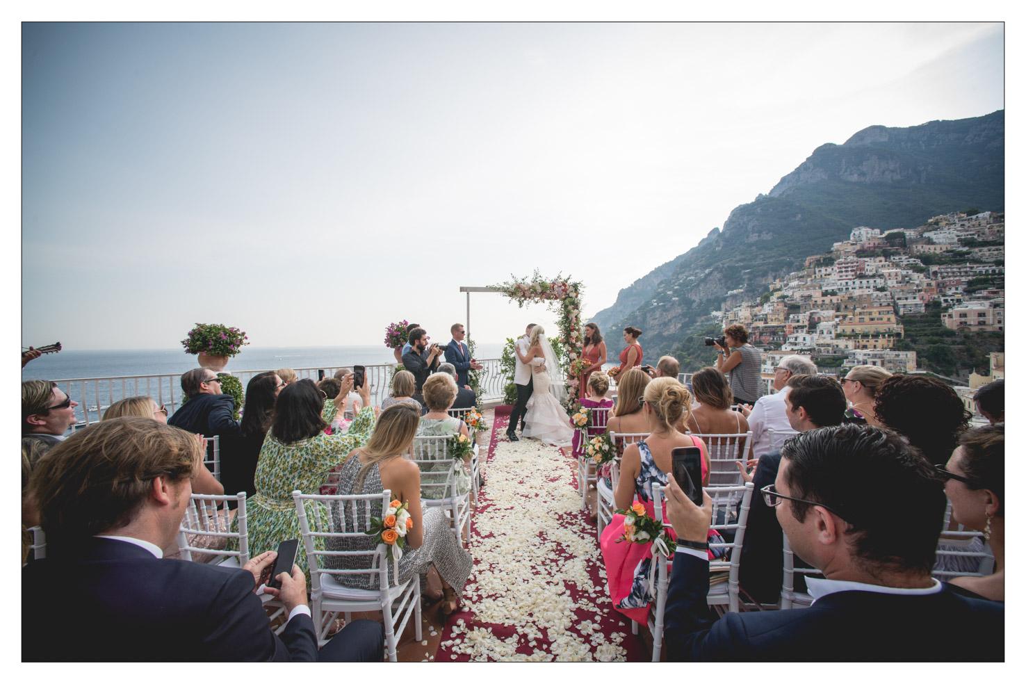 Wedding in Positano Amalfi coast