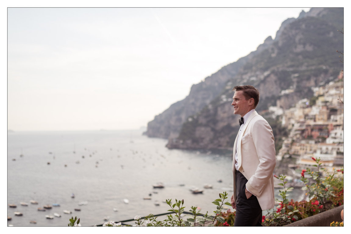 Positano groom Italy