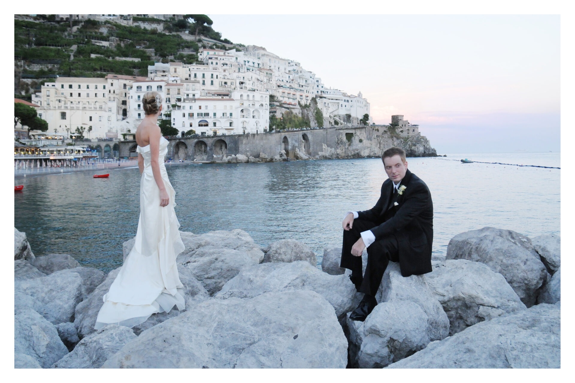 Symbolic Weddings in Amalfi