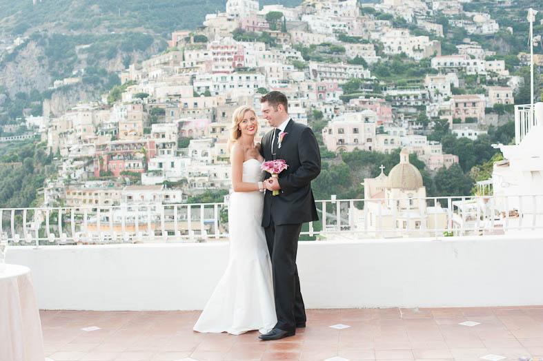 Romantic wedding in Positano