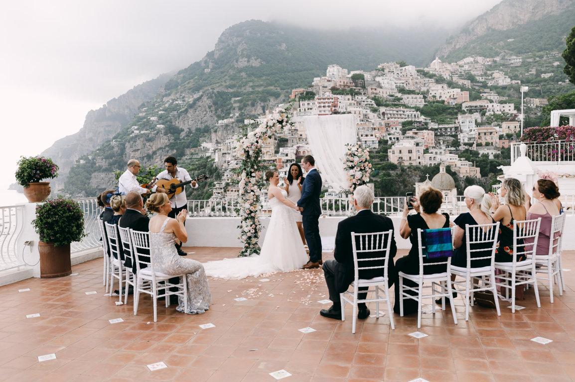 Exclusive wedding in Positano