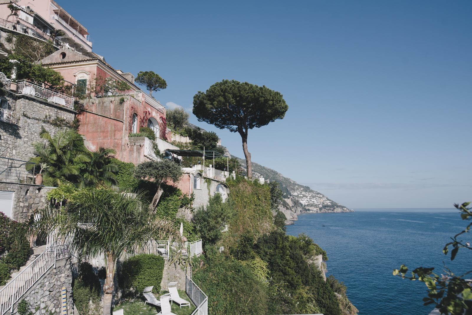 Villa Incanto Positano wedding
