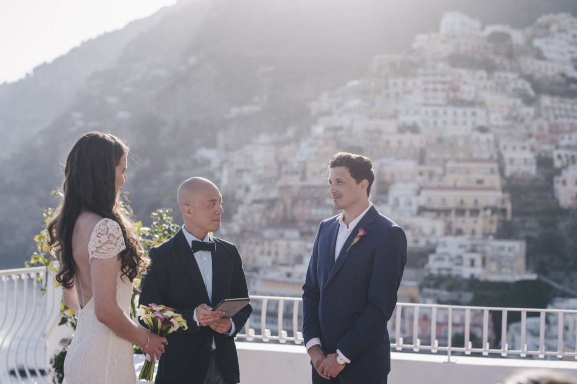 Wedding Officiant in Positano