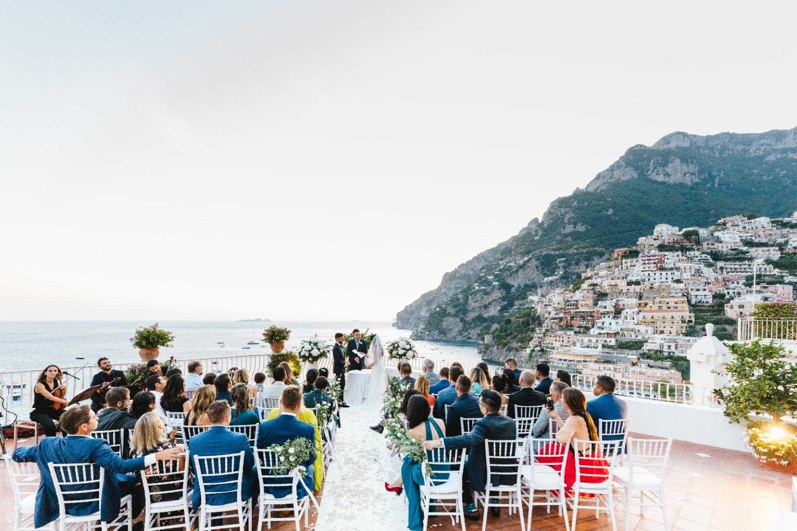 Exclusive wedding in Positano Marincanto Hotel