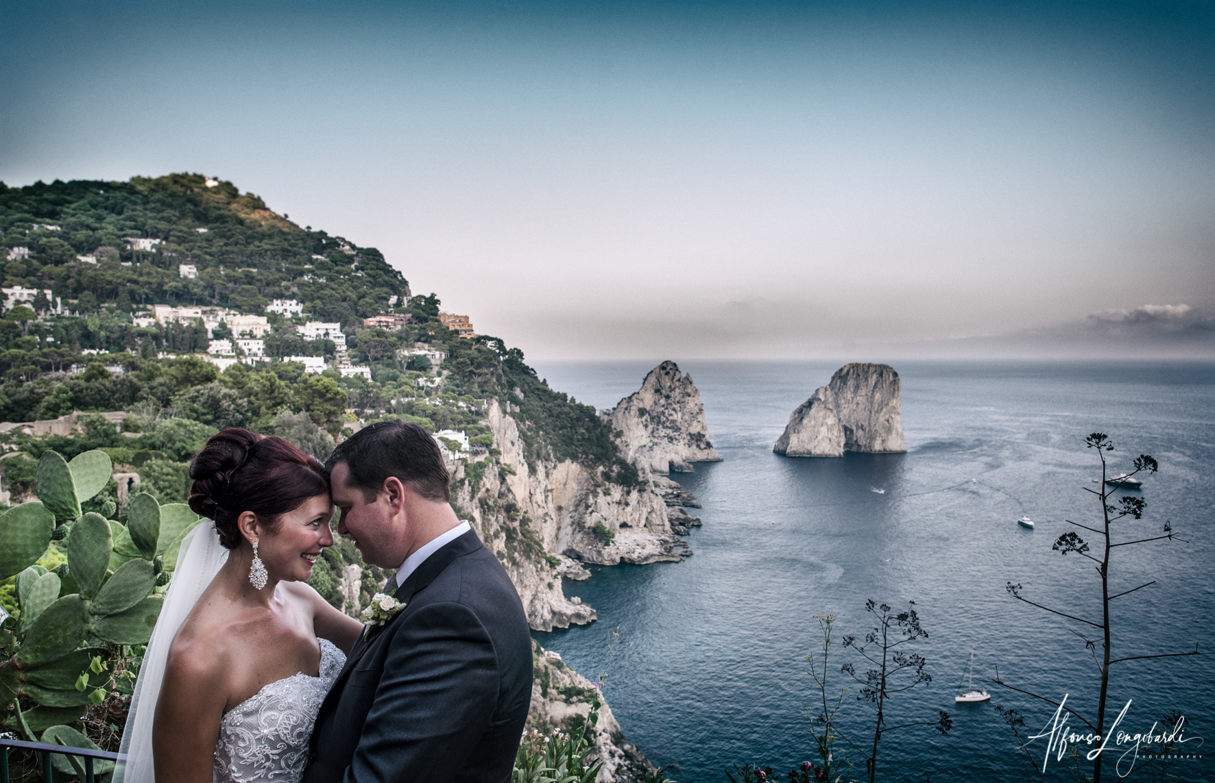 capri protestant wedding