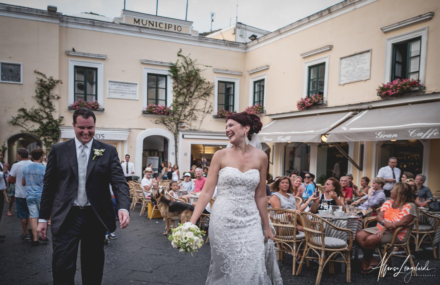 civil wedding capri