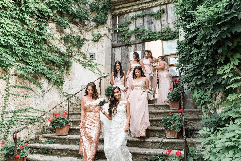 exclusive wedding in villa cimbrone
