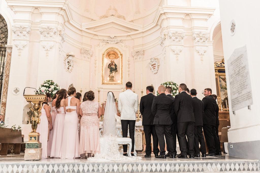 Ravello's Cathedral catholic wedding