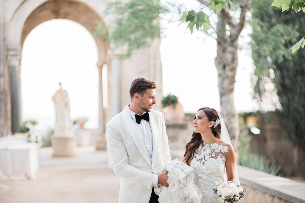 exclusive wedding in ravello