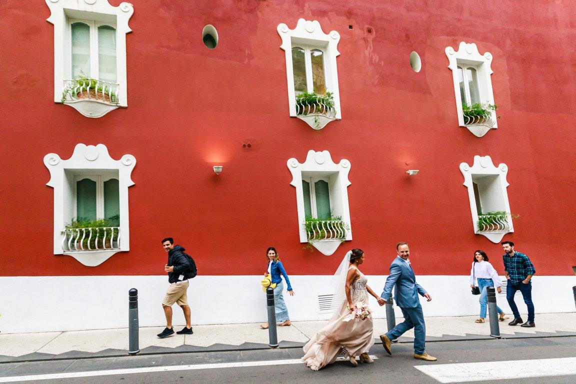 Destination weddings in Positano
