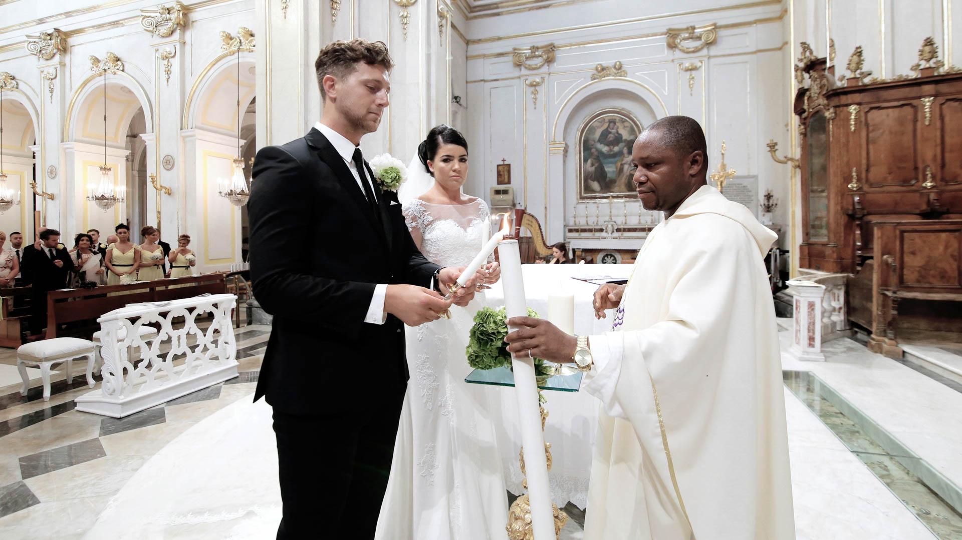 Catholic weddings in Positano cathedral