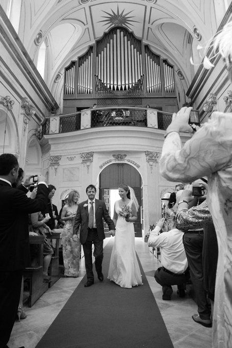 Catholic Wedding in Positano