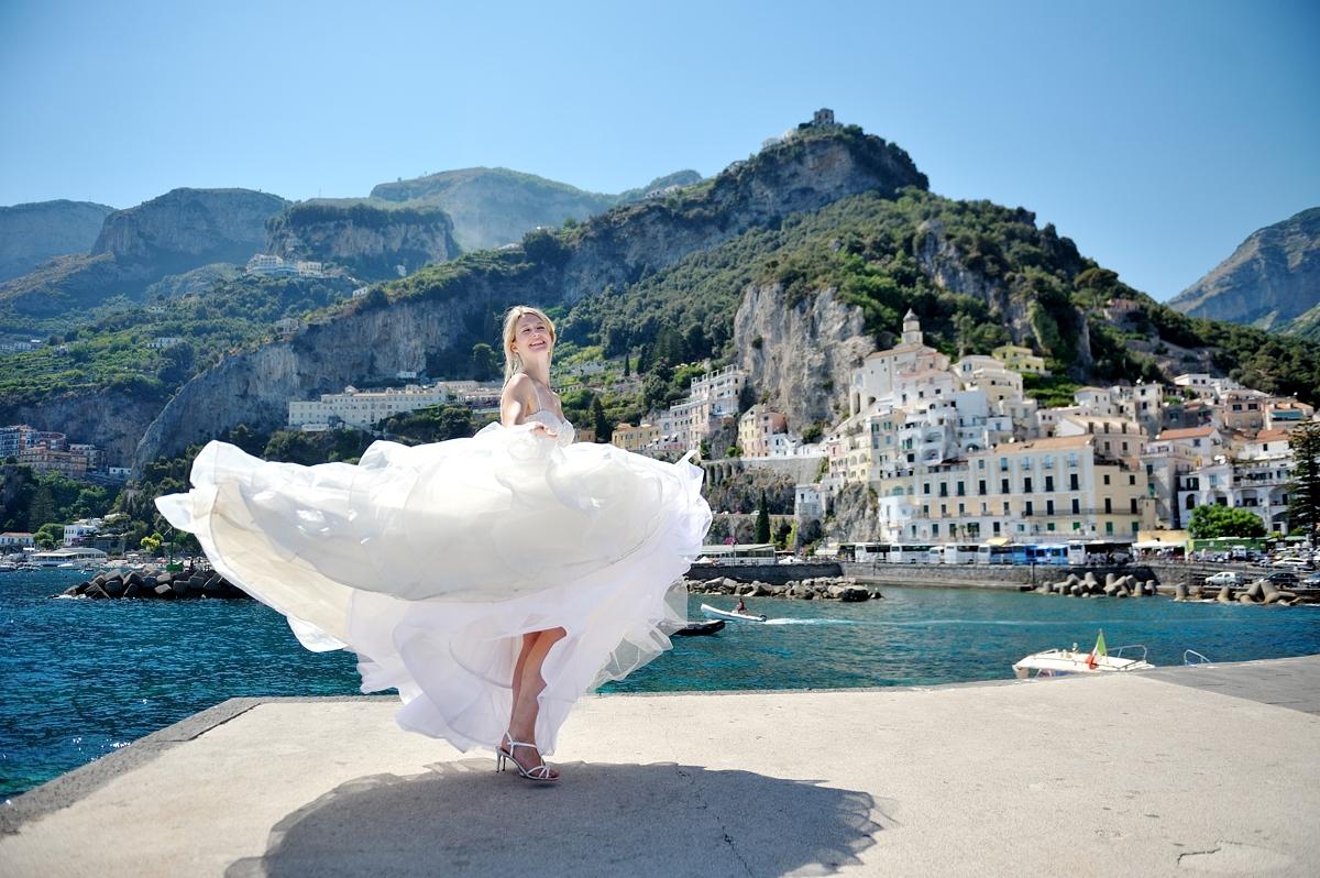Destination weddings in Amalfi