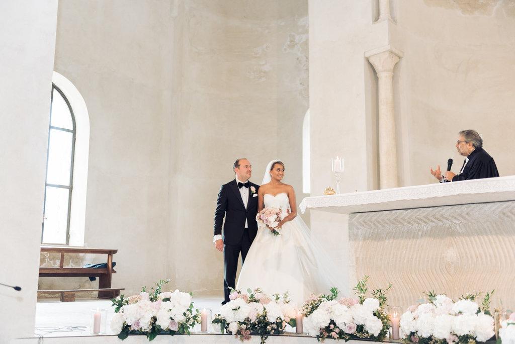 Protestant Wedding in Ravello Santa Maria a Gradillo