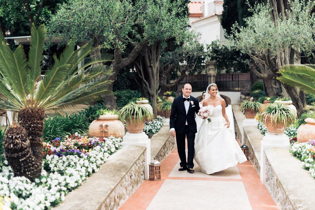 Ravello wedding in Villa Eva Ravello