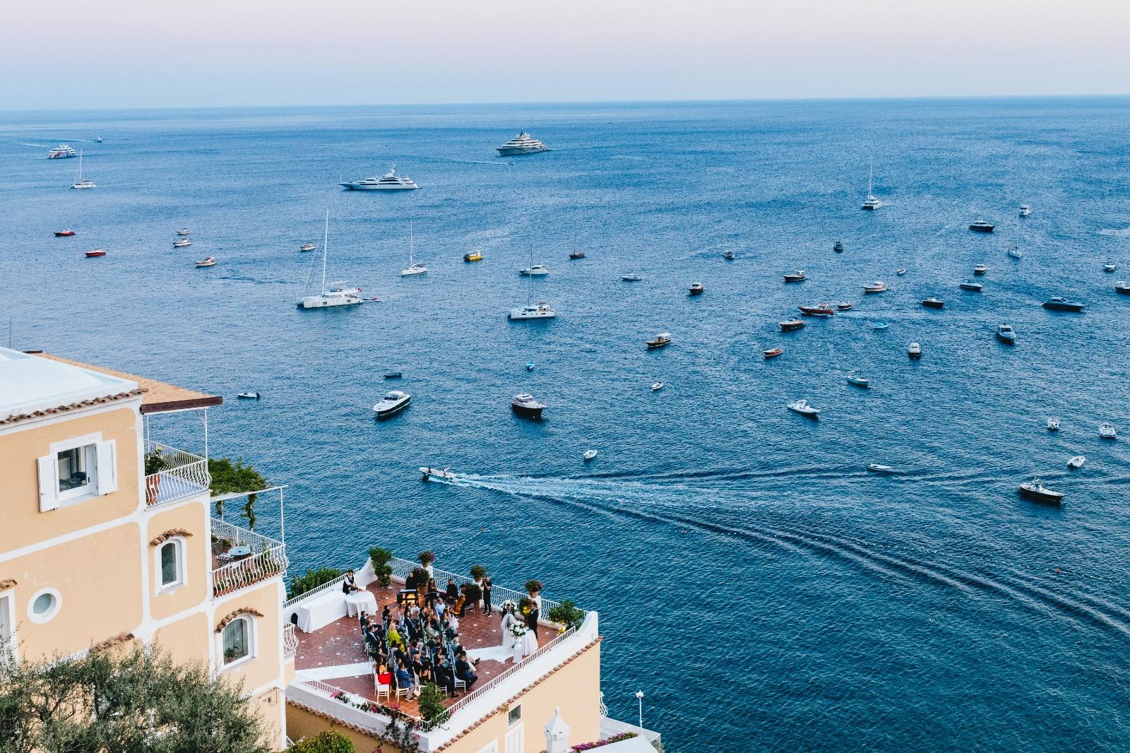 Exclusive weddings in Positano