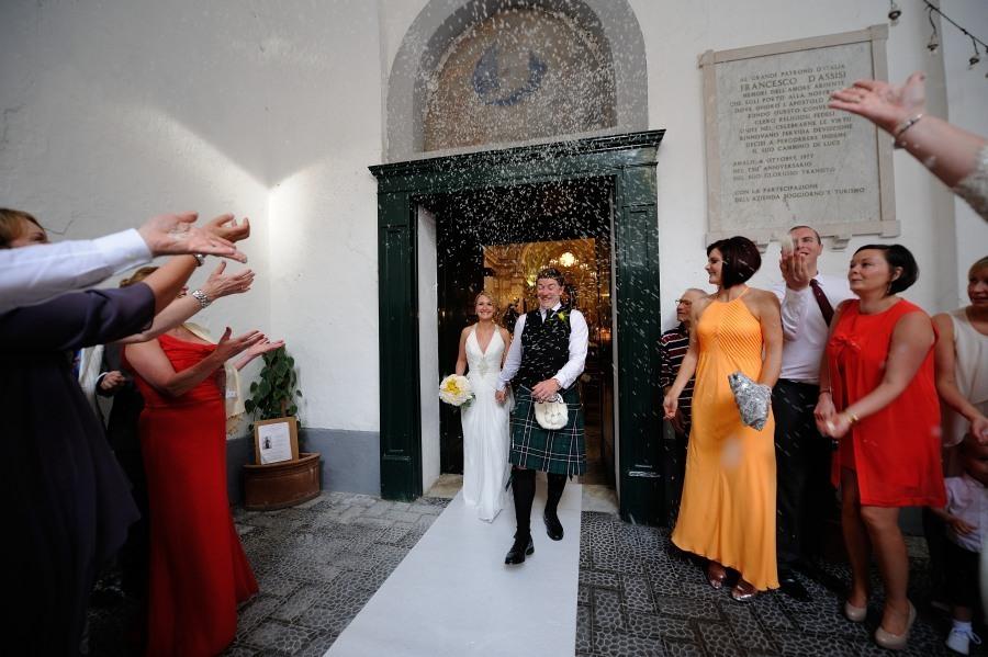 Protestant Weddings in Amalfi