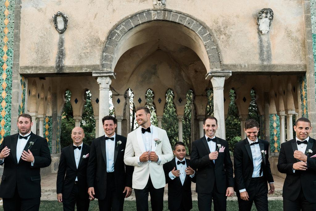 Exclusive ravello wedding