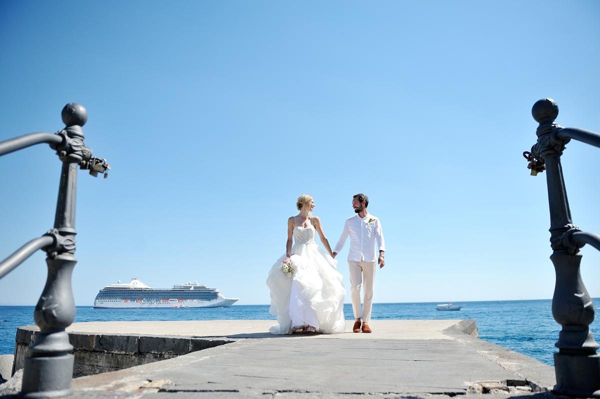symbolic wedding in amalfi
